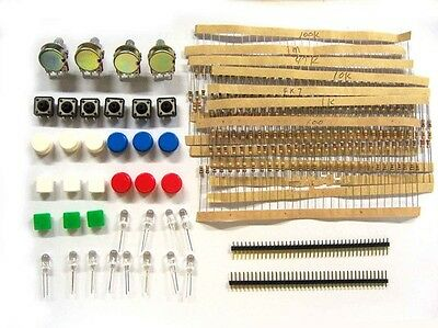 15 Sets Electronics fans Parts component package Kit For Arduino Starter Courses