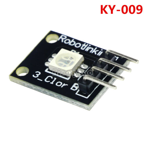 2Stks NEW 5050 Pwm RGB SMD LED Module Color Light For Arduino MCU Raspberry