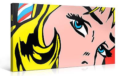 RESPOND! Pop Art Kunst !!! Bild auf Leinwand 100x50cm #e1027