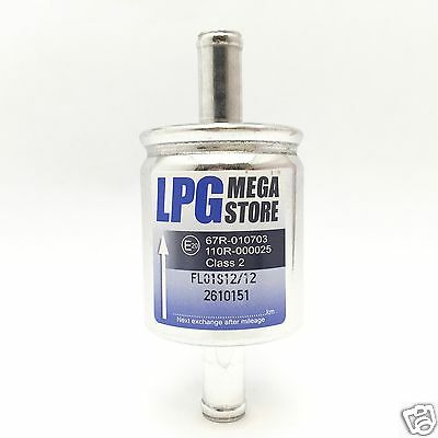 BRC STAG 9 Stück LPG Autogas Filter Gasfilter 12mm 12//12 f LOVATO 12 mm KME