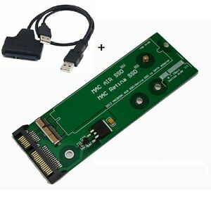 SSD-to-SATA-adapter-for-7-17-8-18-Pin-2012-MacBook-Pro-Retina-Air-amp-USB-CABL