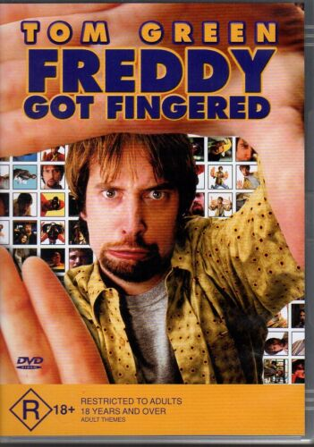 1 of 1 - FREDDY GOT FINGERED - DVD R4 (2002) Tom Green VERY GOOD - FREE POST