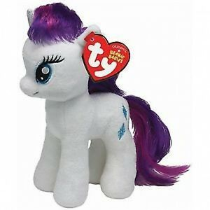 3e0ea9ef21b TY BEANIE - RARITY - MY LITTLE PONY SOFT PLUSH TOY - 7 INCHES ( 18CM ...