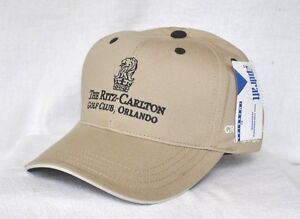 RITZ CARLTON GOLF CLUB ORLANDO  FLORIDA Stuctured HAT CAP  IMPERIAL ... 72423107307