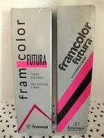 Framesi Framcolor Futura Permanent Hair Color 1 - 7 Your Choice Slvr Bx