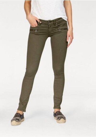 REPLAY Skinny Jeans wa626 brigidot [Size W30 L32] Green Military Green 434 NEW
