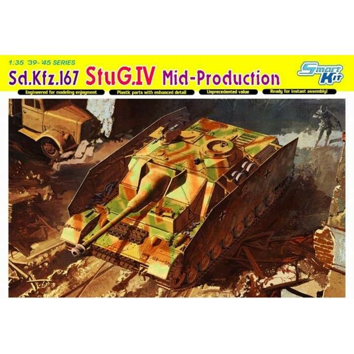 Dragon  35 Sd.Kfz.167 StuG.IV Mid Production - Smart Kit