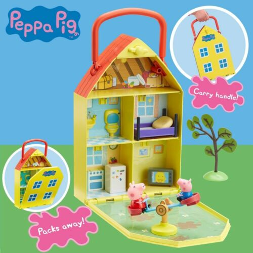 Peppa Pig House /& Garden Playset