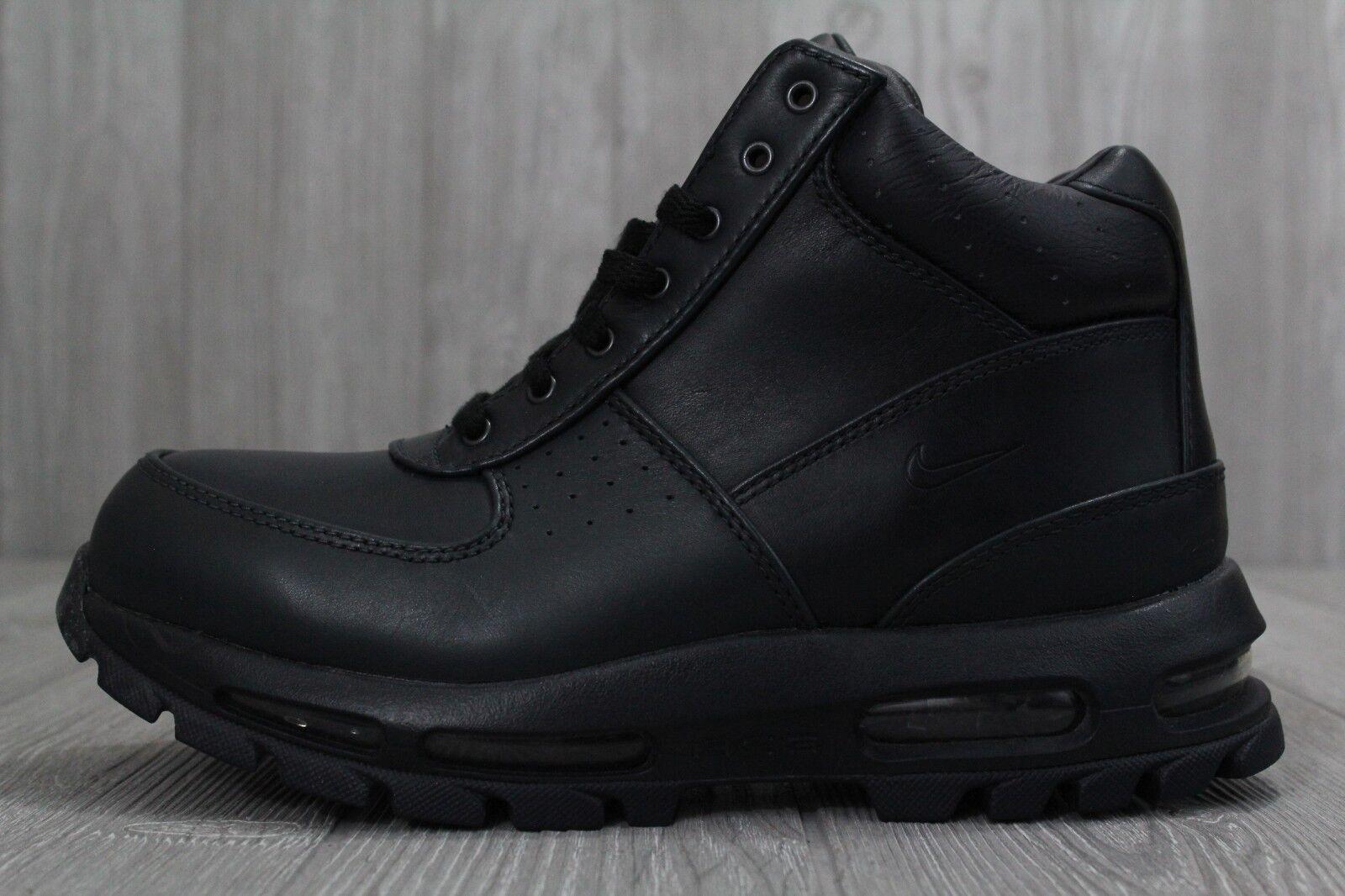 c4f266e9e5a ... sale nike acg boots air max goadome hombre boots acg dark obsidian azul  negro 865031 403 ...