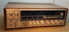 Vtg Sansui QRX-5500A 2/4 Channel Analog AM/FM Receiver Wood Cabinet Phono Stage