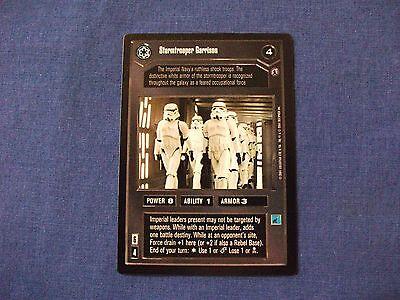 Star Wars CCG Reflections III 3 Stormtrooper Garrison