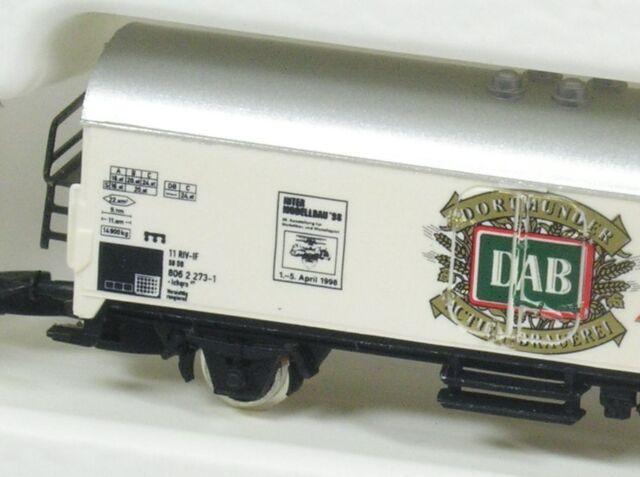 Z Kühlwagen DAB Pilsener DB Märklin 98008 NEU OVP