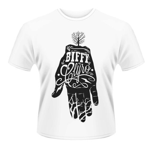 Biffy Clyro /'mano blanca/' T Shirt-Camiseta Nueva