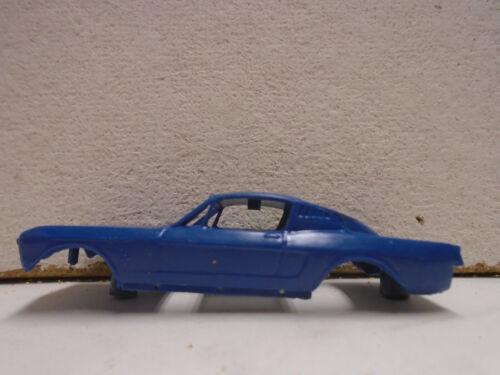 ORIGINAL A.C.GILBERT BLUE MUSTANG BODY FOR JAMES BOND 007 SEARS RACE SET 1960'S