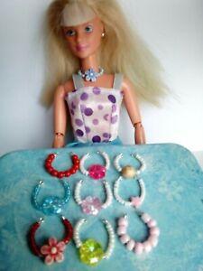 Accessoires Pour Poupées Barbie-afficher Le Titre D'origine Cool En éTé Et Chaud En Hiver