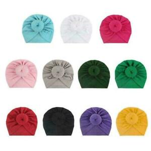 Baby-Maedchen-Kinder-Haeschen-Bogen-Knoten-Turban-Stirnband-E6T0-Haarband-Hea-O6Y9