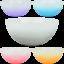 Salatschuessel-Crystal-way-24-cm-Schuessel-Schale-Haushalt-Geschirr-Kueche-Wohnen Indexbild 1