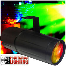 LED RGB Pinspot - Light up your Mirror Balls with this color changing pinspot.