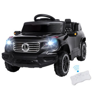 Safety-Kids-Ride-on-Car-Toys-Battery-Power-Wheels-Music-Light-Remote-Control