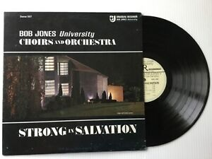 BOB-JONES-UNIVERSITY-BRASS-CHOIRS-amp-ORCHESTRA-Strong-In-Salvation-LP-bonus-CD