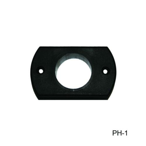 Utility Flanges and Pedestal Holders for Boats