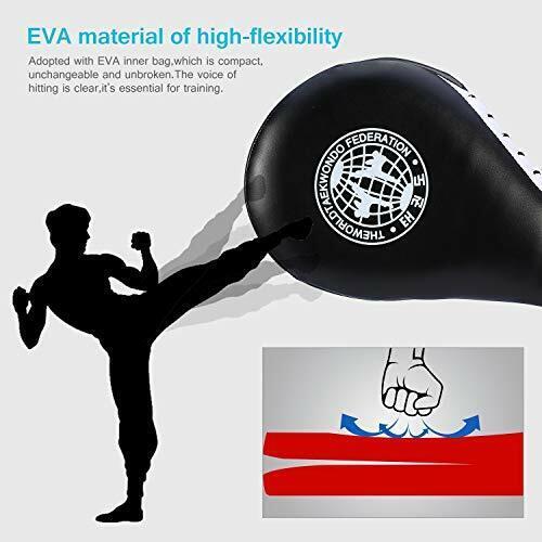 Yosoo 1 Paar Taekwondo Trainingsgeräte Taekwondo Pratze Tae Kwon Do Pratze Sc...