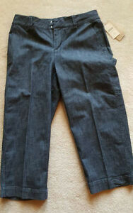 Nwt Coldwater capris Denim Sz 8 Pantalon Crop Creek Jean Miss court Crop qFqPrR