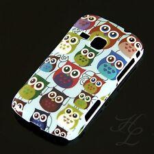 Samsung Galaxy Mini 2/s6500 Hard Case Cellulare Astuccio Cover Colorati Gufo Owl