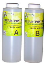 Crystal Clear Bar Table Top Epoxy Resin Coating For Wood Tabletop - 64 ounces