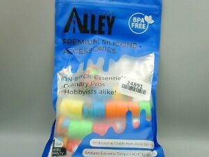 Silicone-Alley-non-stick-containers-BPA-free-culinary-pros-30ct-assorted-colors