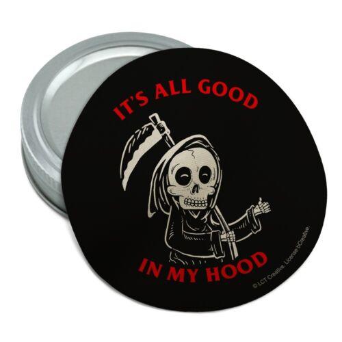 It/'s All Good In My Hood Grim Reaper Rubber Non-Slip Jar Gripper Opener