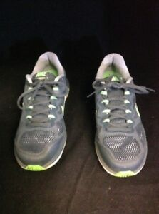 Es Fusion 7 Men's Running Grayamp; Dual Shoes 3 Nike Size Run Green YW9H2DEI