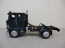 LARGE VINTAGE TIN METAL MODEL TRUCK TRACTOR 1942 FREIGHTLINER BUBBLENOSE SEMI