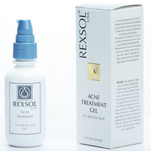 Rexsol Acne Treatment Gel Salicylic Acid Gel Ebay