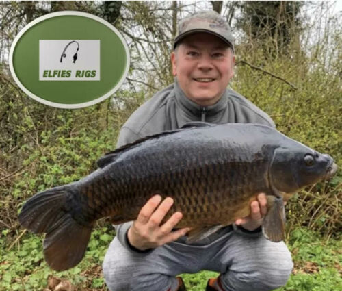 FOX HAIR RIGS CARP FISHING HANDMADE USING FOX TACKLE! Details about  /NEW