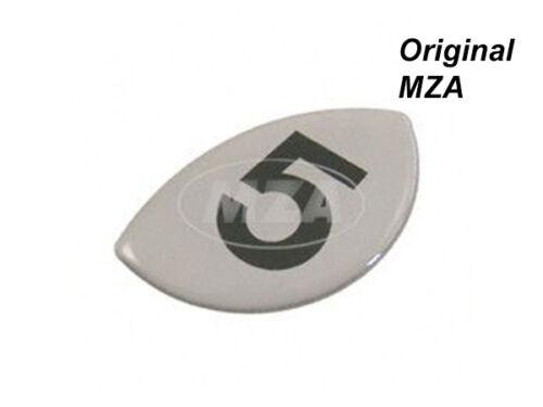 für Motor 4 für Kupplungsdeckel// Seitendeckel 4-Gang Simson Klebefolie Ziffer