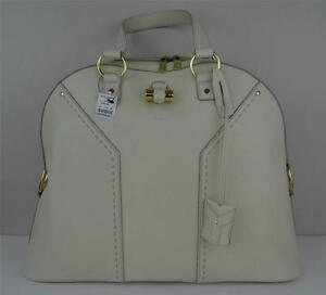 Authentic New Yves Saint Laurent YSL Muse Bag Satchel Oversize | eBay