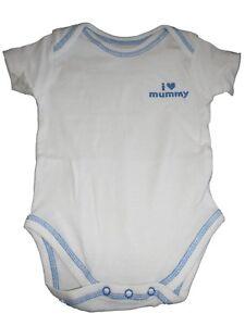Grade Produkte Nach QualitäT Avenue Baby Toller Body Gr 80 Weiß-blau Mit Schriftzugdruck ! 74