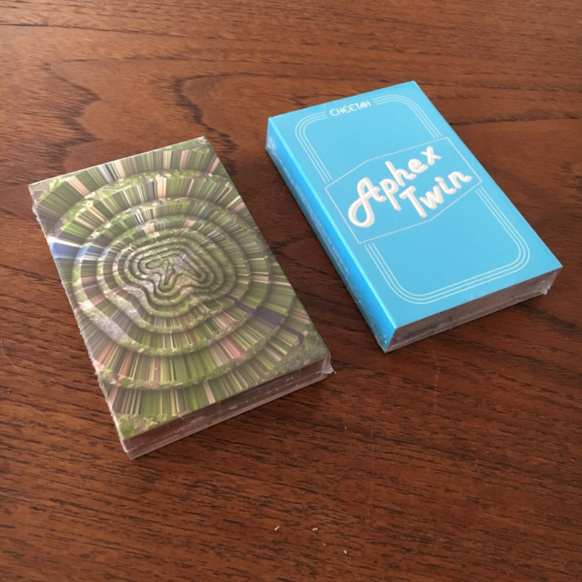 Bånd, Aphex Twin, Collapse EP + Cheetah EP, Electronic,…