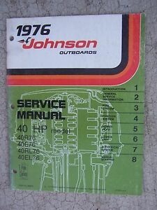 2016 40hp Johnson Boat Motor Service Manual  Hp Johnson Wiring Diagram Modle Rds on