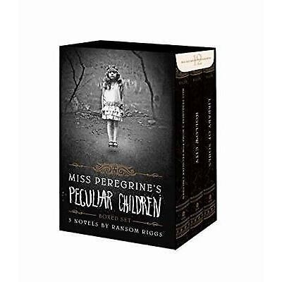 Miss Peregrine's Peculiar Children: Miss Peregrine Set by Ransom Riggs (2015,...