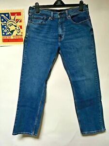 Levi-039-s-505-039-s-Jeans-Straight-leg-Distressed-Faded-Hippie-Boho-punk-Denim-36x30
