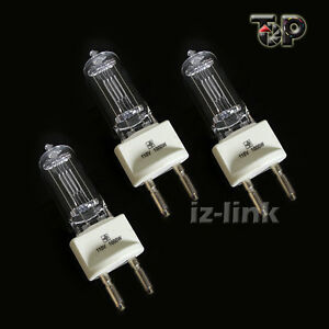 3PCS 110V 1000W Tungsten Globe Bulb Video For Spot lighting Studio Video