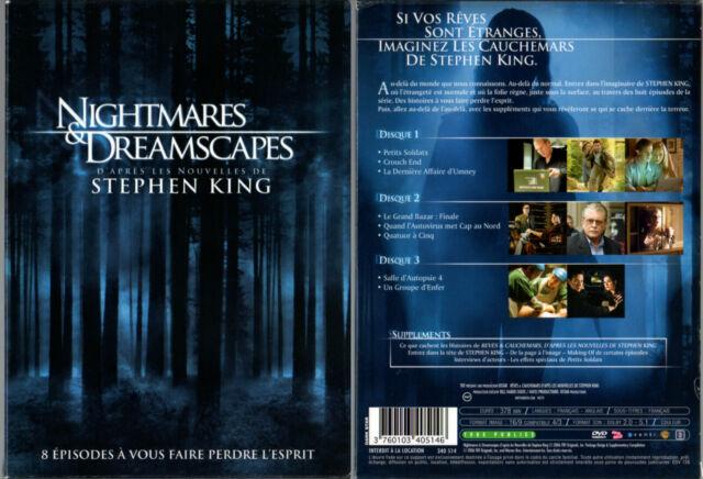 3 DVD - NIGHTMARES & DREAMSCAPES (Stephen King) - Berenger,Forlani,Hurt,Macy