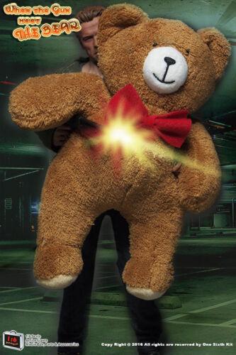 Custom Made Peluche Bear in scala 1//6 TERMINATOR T800 Guardian Costume di visualizzazione