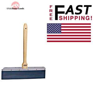 Blue Steel Drywall Taping Knife 24 In Ridgeless Blade W Wooden