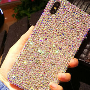 Lovely-Bling-Diamond-Case-for-iPhone-X-XR-XS-Max-7-8-Plus-with-SWAROVSKI-ELEMENT