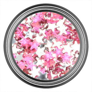 Dark-Pink-Star-Rhinestone-Gems-Flatback-Face-Art-Nail-Art-Jewels-Decoration
