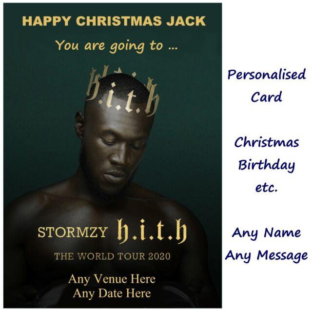 PERSONALISED SAM SMITH BIRTHDAY CARD