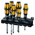 Wera 018287 6pce Kraftform Chiseldriver Screwdriver Set
